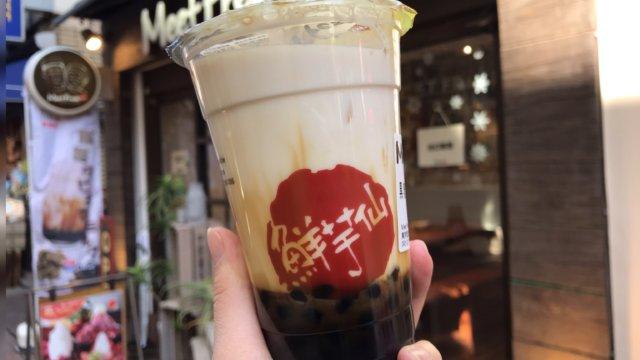 黒糖タピオカ 吉祥寺