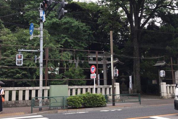 武蔵野八幡宮 アクセス
